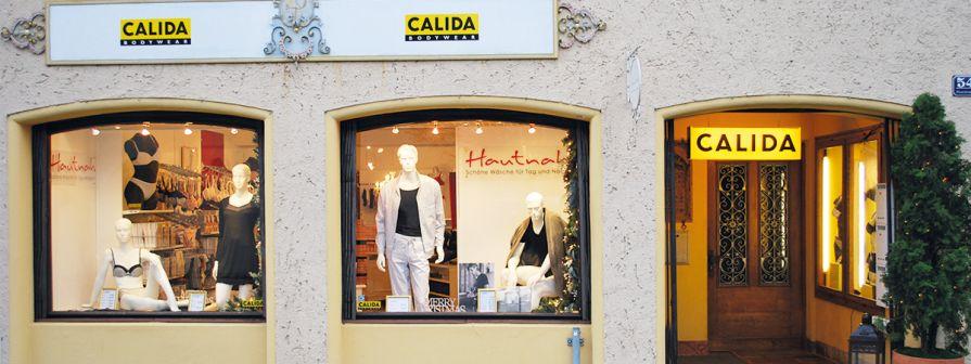 Calida Wäschegeschäft Hautnah in Bad Reichenhall
